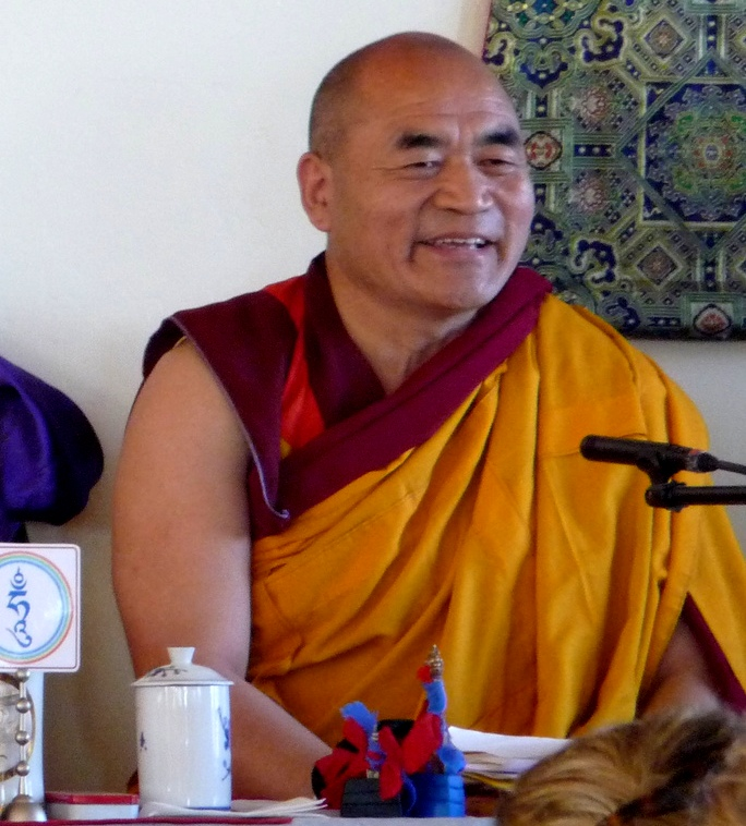 Venerable Traga Rinpoche